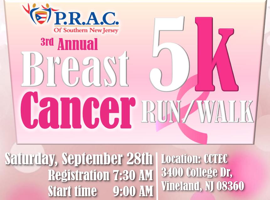 3rd Annual Breast Cancer 5k Run/Walk